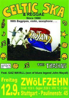 #Ska und #Reggae mit The Trojans am 12.9. in #Stuttgart