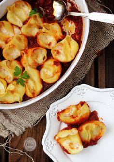 Four-Cheese Stuffed Shells | Kanela y Limón