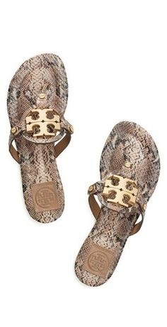 Visit Tory Burch to shop for Snake Print Miller 2 Sandal . Find designer shoes, handbags, clothing & more of this season's latest styles from designer Tory Burch. Cute Shoes, Me Too Shoes, Motif Serpent, Sweet Style, My Style, Wholesale Shoes, Beach Wear, Miller Sandal, Crazy Shoes