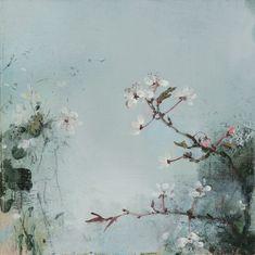 Prunus   20cm x 20cm   Oil On linen   SOLD Linda Felcey