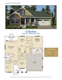 Take a look at all of Trinity Custom Homes Georgia floor plans