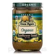 Organic Manteiga De Semente De Girassol - 16 Oz (454 Gramas)