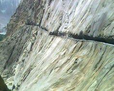 Gilgit Sakurda Road, Pakistan. A modern wonder