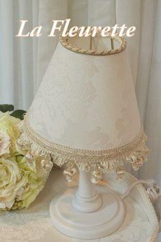 オリジナルランプでおしゃれシェード♪ の画像|布のインテリア*La Fleurette の Diary