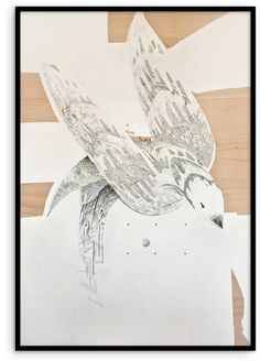 #KatarzynaBudka #guardian #Iwilltakeyouaway #ink #playwood #drawing #bird, www.projectbu.com