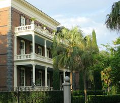 Historic Antebellum Mansion, Charleston, South Carolina