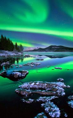 Aurora Borealis in Alaska, USA. I am fascinated with the Northern Lights and it is my DREAM (one of them, anyway) to live in a location where this phenomenon occurs and is highly visible, like Iceland or Norway. Alaska would be fine, too. Beautiful Sky, Beautiful Landscapes, Beautiful World, Beautiful Pictures, Beautiful Norway, Beautiful Lights, Amazing Photos, Nature Pictures, Photos Of Nature