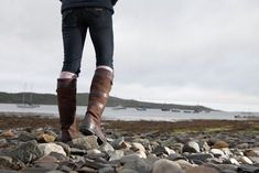 The classic Dubarry Galway http://www.andersonsofdurham.com/en/ladies-shoes-and-clothing/dubarry-ladies-boots/dubarry-galway-boot.html