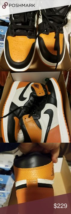 Nike air jordan shattered back board High quality ua. New w box. Sz 8 Shoes Sneakers