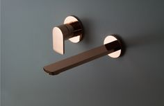 Copper Wall Basin Tap