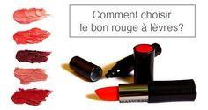 Choisir la bonne texture de rouge à lèvre