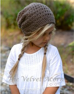 CROCHET PATTERNThe Cade Cap Toddler Child Adult by Thevelvetacorn, $5.50