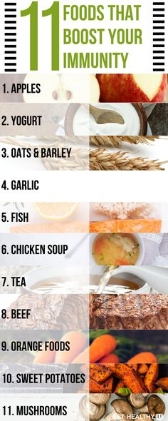 Check out these 11 Foods to add to your grocery list, protect your health and boost your immunity. Help keep yourself healthy and happy during these chilly winter months by boosting your immunity and avoiding those pesky seasonal illnesses!