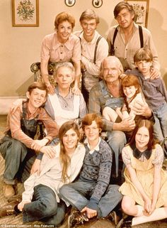 The Waltons  All American Family: The show about a Virginian couple and their seven children was very popular in the 70s