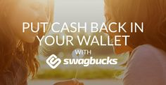 Swagbucks, one of my favorite ways to  earn and buy rewards.  Reward yourself with free gift cards for Shopping, Searching and Discovering stuff online.
