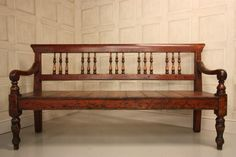 43 Super ideas for antique wood bench interiors Wooden Sofa Designs, Wood Chair Design, Wooden Sofa Set, Wood Sofa, Unique Wood Furniture, Wood Furniture Living Room, House Furniture Design, Furniture Layout, House Design