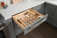 Genial Silverware Drawer Divider Insert Kitchen Organization Pantry, Bathroom  Organization, Bathroom Storage, Drawer