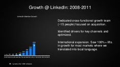 Lessons learned from growing LinkedIn to 400m members - Growth Hacker…