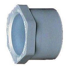 Genova Products 30221 2-inch x 1.5-inch PVC Sch. 40 Reducing Bushings