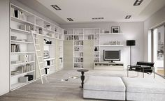 Nice!! this might be my style...but with more books! :)