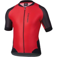 Team Edition SHORT SLEEVE CYCLING JERSEY in Black/Red- By EtxeOndo