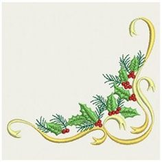 Wind Bell Embroidery Embroidery Design: Christmas Corner 3.30 inches H x 3.84 inches W