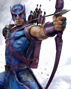 Hawkeye, the Marksman Marvel Comics Art, Marvel Dc Comics, Marvel Heroes, Marvel Avengers, Comic Book Characters, Marvel Characters, Comic Character, Comic Books Art, Comic Art