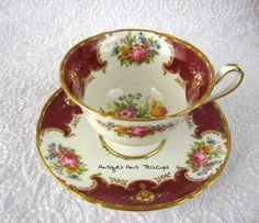 Antiques And Teacups: Tuesday Cuppa Tea, Shelley Duchess Teacup