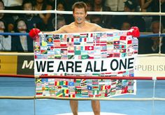 "Genki Sudo ""We are all one""."