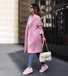 street style - pink accents