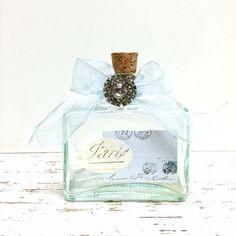 PARIS Glass bottle by beachbabyblues