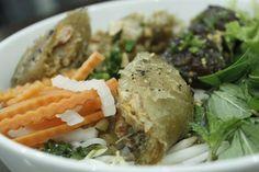 bún thịt nướng ở Sài Gòn