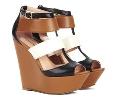 wedges. Love the different colors
