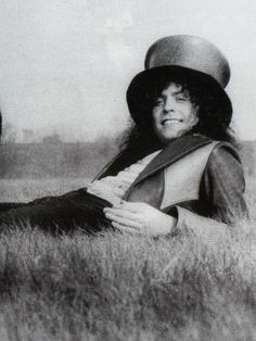 """Marc Bolan filming """"Born to Boogie"""" (1972)"""