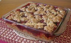 CHERRY OATMEAL DELIGHT
