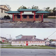 Ho Hai Tran (top) The Great Wall Glendale Heights IL USA and (bottom) Copycat  California PA USA (all photos courtesy Ho Hai Tran and Chloe Cahill) While our love for pizza will never die the dine-in locations of the red roofed Pizza Hut have been gradually shuttering across the world. Still even if they no longer house cheesy greasy goodness their iconic hut-shaped forms endure dotting the landscape as buildings for new businesses. For the past two years freelance photographer Ho Hai Tran…