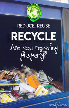 Do you know how to recycle properly? I didn't, and here's what I learned. Reuse Recycle, Recycling, Did You Know, Change, Learning, Repurpose, Teaching, Upcycle, Studying