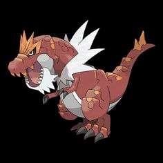 #697 *TYRANTRUM* (Rock · Dragon) Generation 6