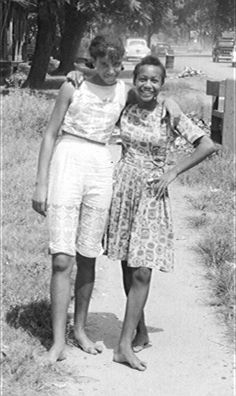 Diane Richardson and Margaret Griffen, two of Selma's nonviolent warriors. You don't have to be a man with a gun to be a hero.