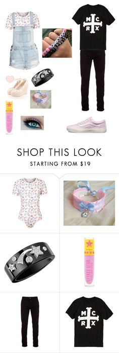 """""""Mickey and Luke"""" by dani-lehmiller on Polyvore featuring Chanel, Jeffree Star, Marcelo Burlon, Hot Topic and Vans"""