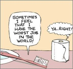 toilet humor..