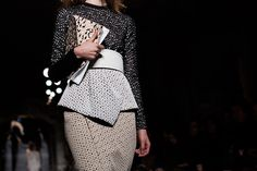 Proenza Schouler, Fall 2013; photo by Scott Schuman #NYFW #details