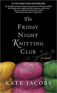 """I finished this book on vacation. I didn't want to put it down. The women in this book felt like friends and I couldn't wait to see """"read"""" what would happen next in their lives. It was also fun to read the quotes about knitting."""