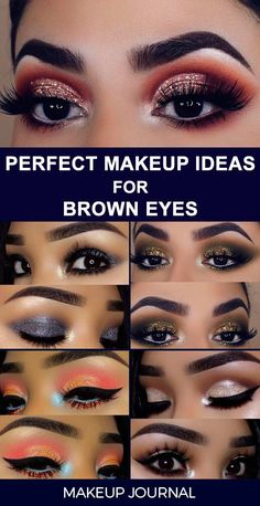 The beauty of brown eyes is irresistible. But it is nice to know the ways to enhance and intensify your natural beauty, and we know how to get there!