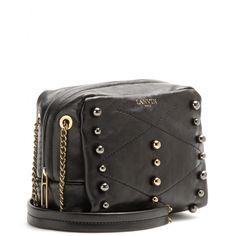 """Lanvin - Baby Sugar studded leather shoulder bag - mytheresa.com $1385, 6.5"""" w x 5"""" h x 3.5"""" d"""