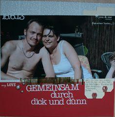 Layout by Susanne Vowinkel | janalenas Blog: Gemeinsam durch dick und dünn - ADW Minikit Layouts, Blog, Movie Posters, Film Poster, Blogging, Billboard, Film Posters