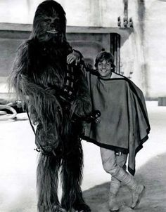 Love this picture of Chewie and Luke!!!