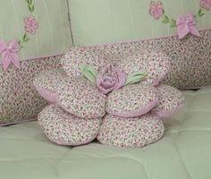 Almofada Flor - Coleção Doce Sonhos