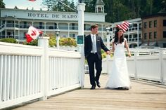 I would love to get married at Roche Harbor