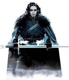 18 ilustra��es super legais baseadas em Game Of Thrones